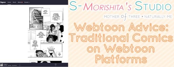webtoon format advice