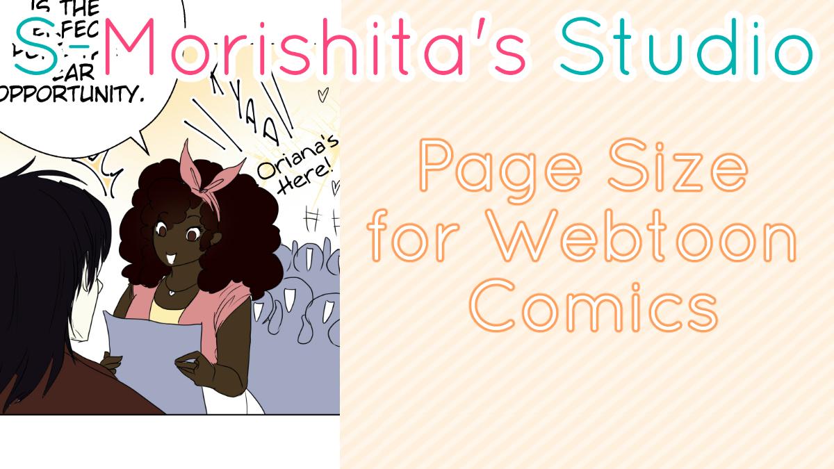 Page Size for Webtoon Comics