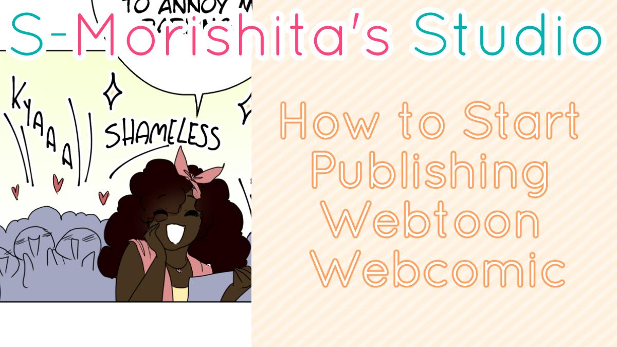 How to Start Publishing Webtoon Webcomic