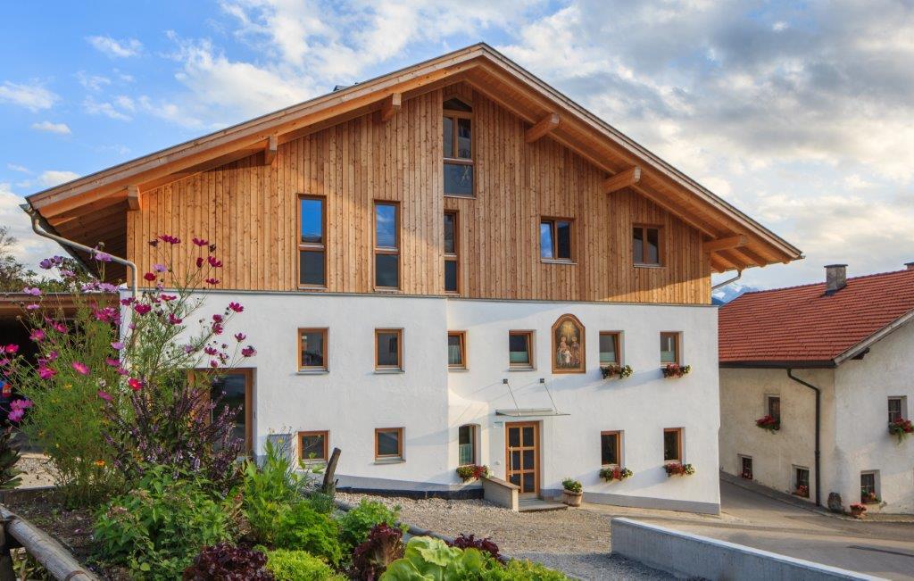 Haus in Patsch (Tirol) mit Ökologischer Zellulosedämmung als isolierung