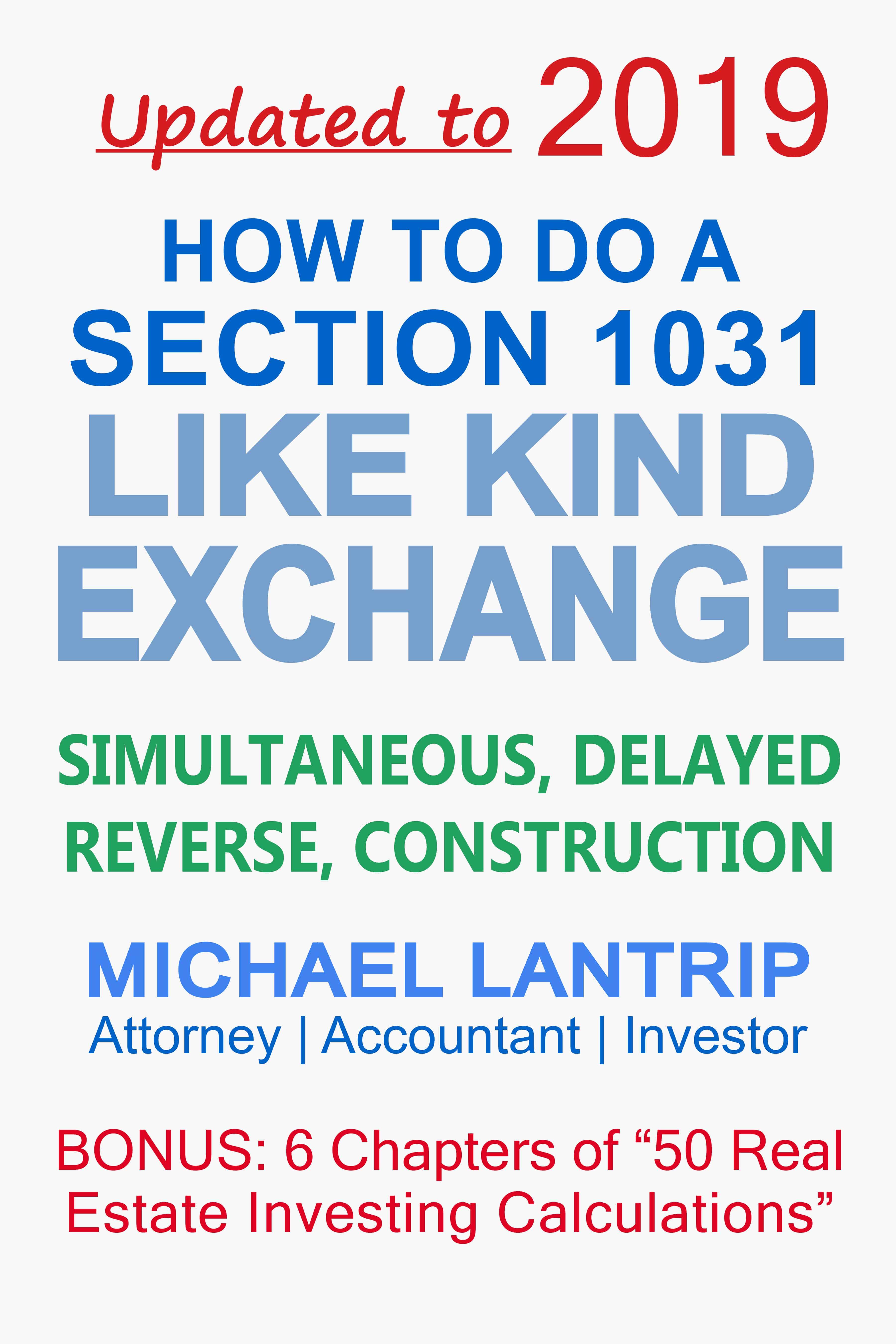 Irs Exchange Worksheet Tutore