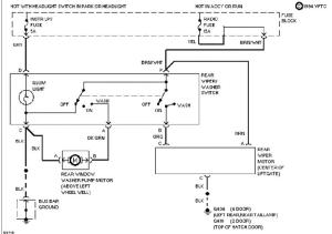 Novice  Need rear wiper circuit diagram for 94 s10 blazer