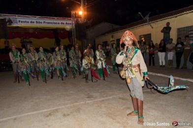 Performance dos Bandoleiros de Solidão na Festa do Povoado São Francisco