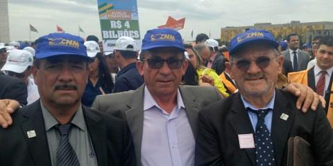 Prefeito de Solidão, Djalma em Brasília na luta contra a crise financeira – Foto: Reprodução