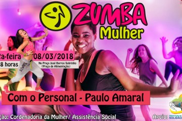 Zumba Mulher em Solidão – Foto: João Santos/ S1 Notícias