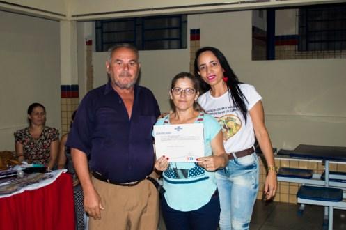 Entrega de certificados do curso de empreendedorismo para mulheres – Foto: João Santos/ S1 Notícias