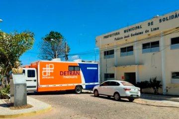 Detran Itinerante atenderá em Solidão nos dias 06 e 07 de fevereiro