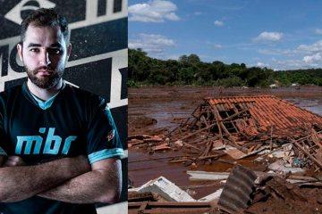 Pró player de CS:GO, FalleN arrecada R$ 33 mil para ajudar vítimas de Brumadinho