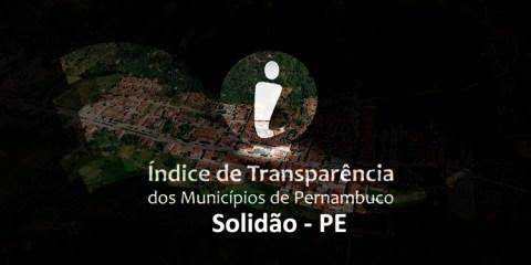 Solidão destaque no índice transparência – João Santos/ S1 Noticias