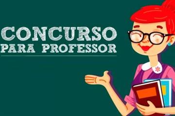 Divulgado edital do concurso para professor da rede estadual da Paraíba