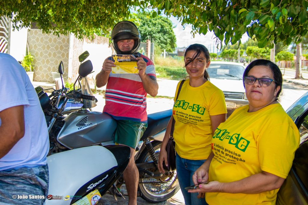 Campanha educativa realizada pelo Conselho Tutelar – Foto: João Santos/ S1 Notícias