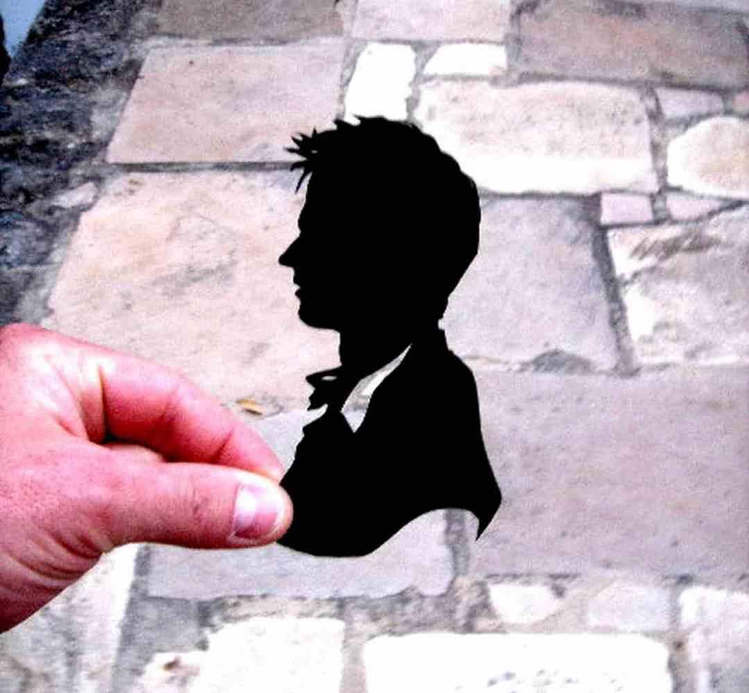 caricature silhouetiste animation
