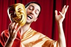 comédien comédienne triste évènement privée public