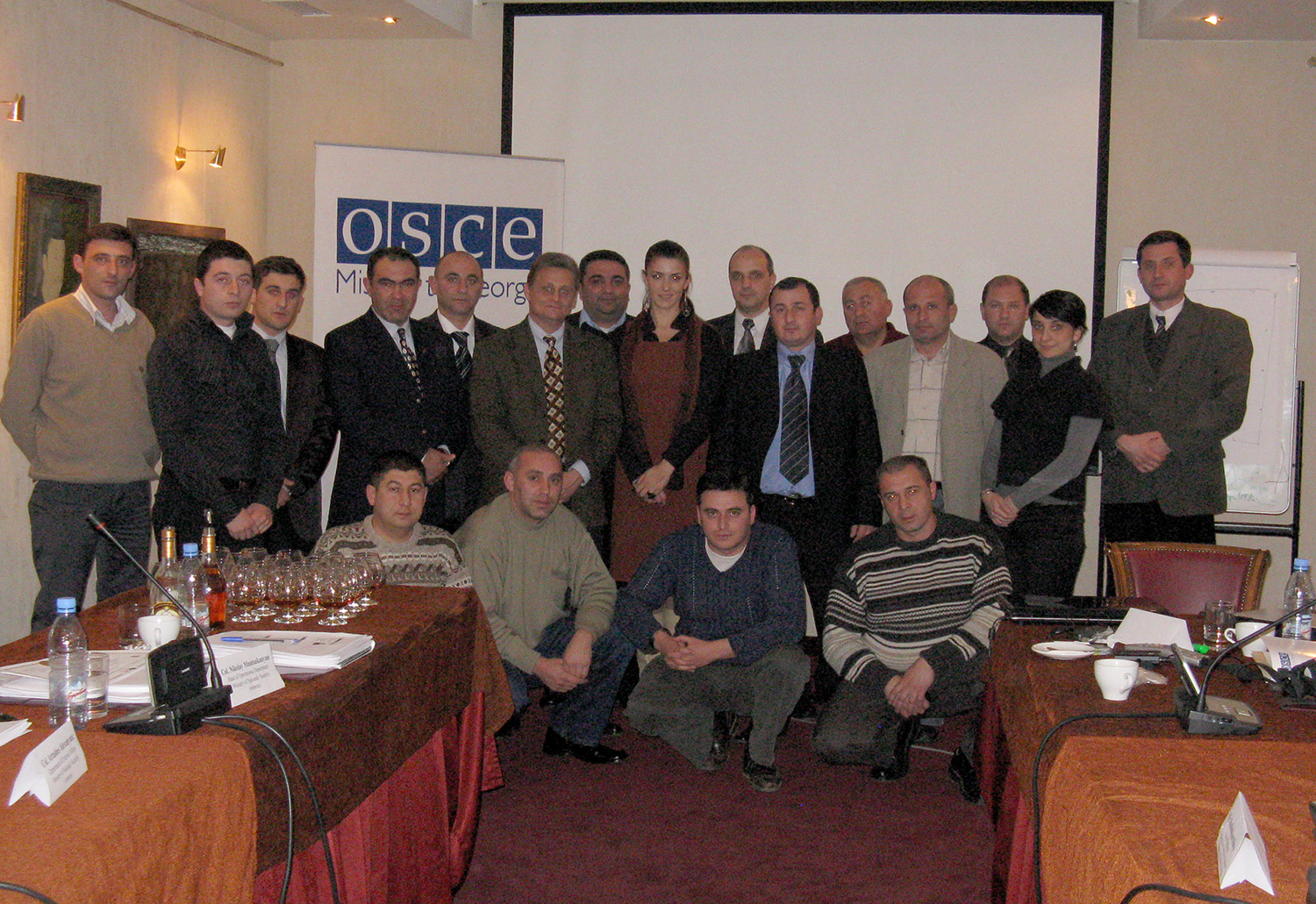Anti-Terrorism Officer Course OSCE Mission to Georgia