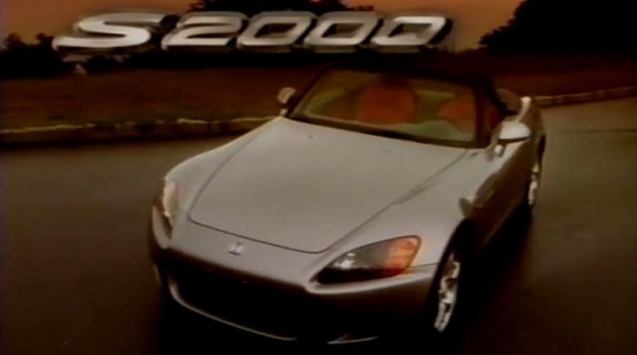 S2KI.com classic Honda S2000 promotional video from 1999
