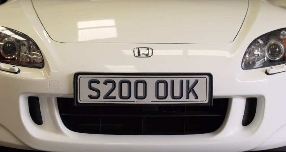 S2KI.com Honda S2000 Heritage UK Edition 100