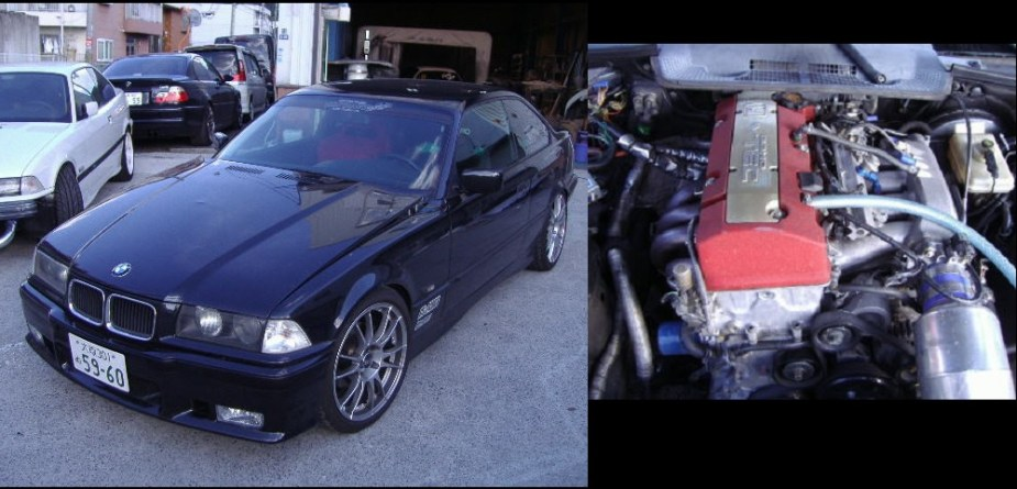 S2KI.com F20C swap BMW E36 S2000 S2K Impact Magic Impact! Magic