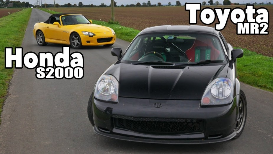 S2000 Versus Honda K20 Powered Toyota MR2 Spyder