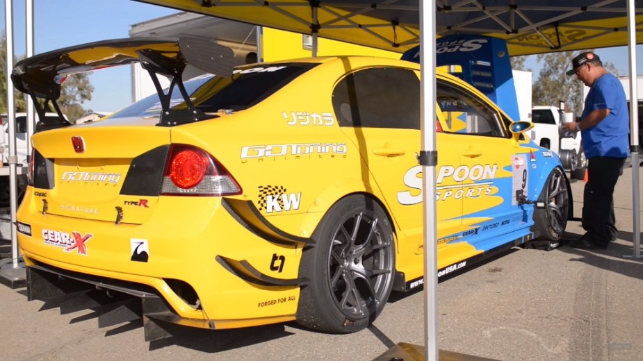 Hoonigan S2000 Global Time Attack Spoon Civic