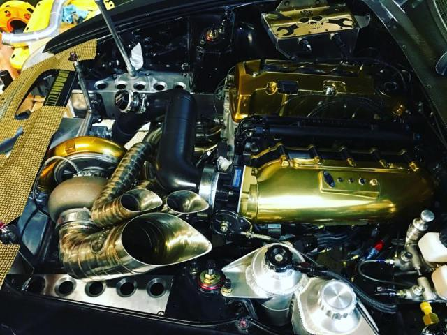 1200 hp s2000 gold plated