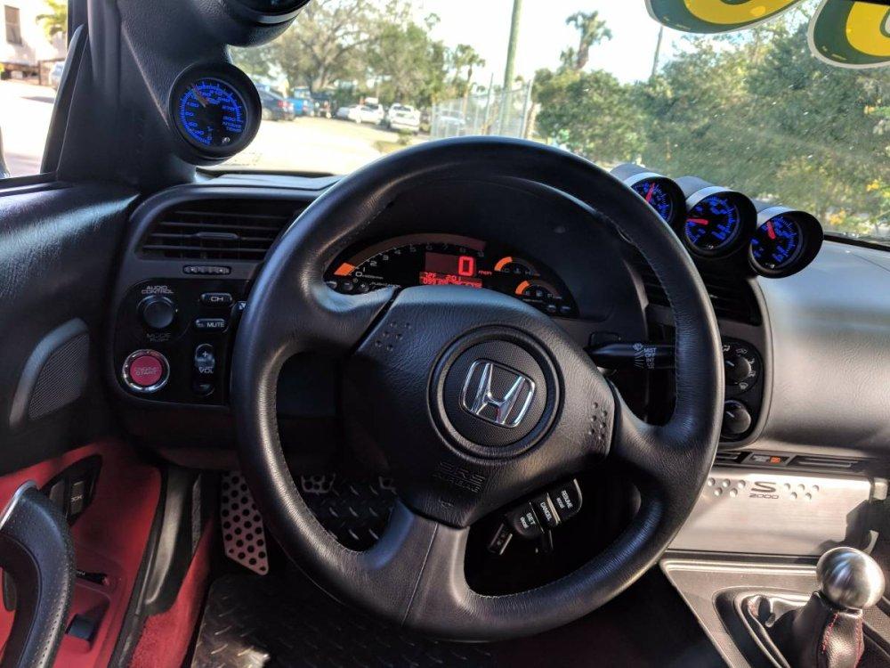 HOT 2007 S2000 Interior