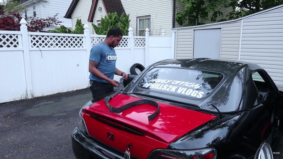 Honda S2000 Hardtop Install Tips