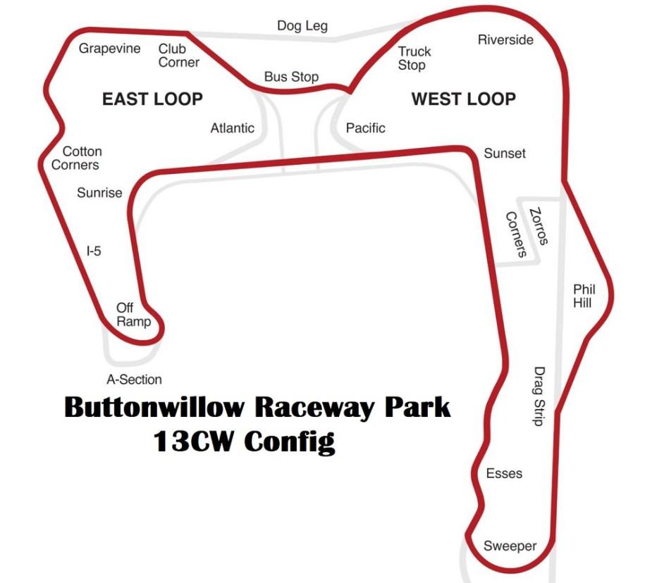 Buttonwillow Raceway Park 13CW