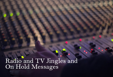 radio jingles, on hold messages, s2r studios