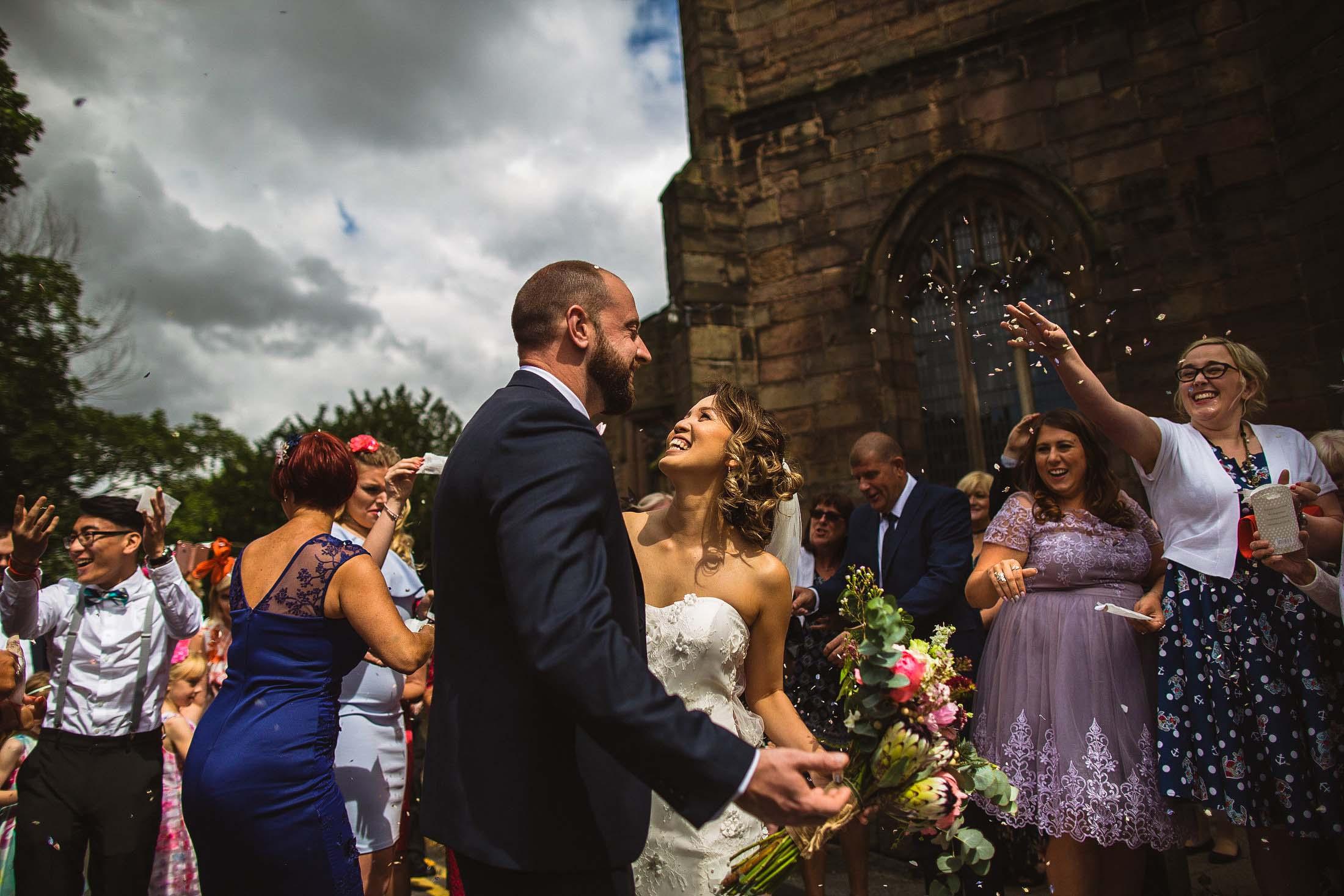 Aston hall church wedding