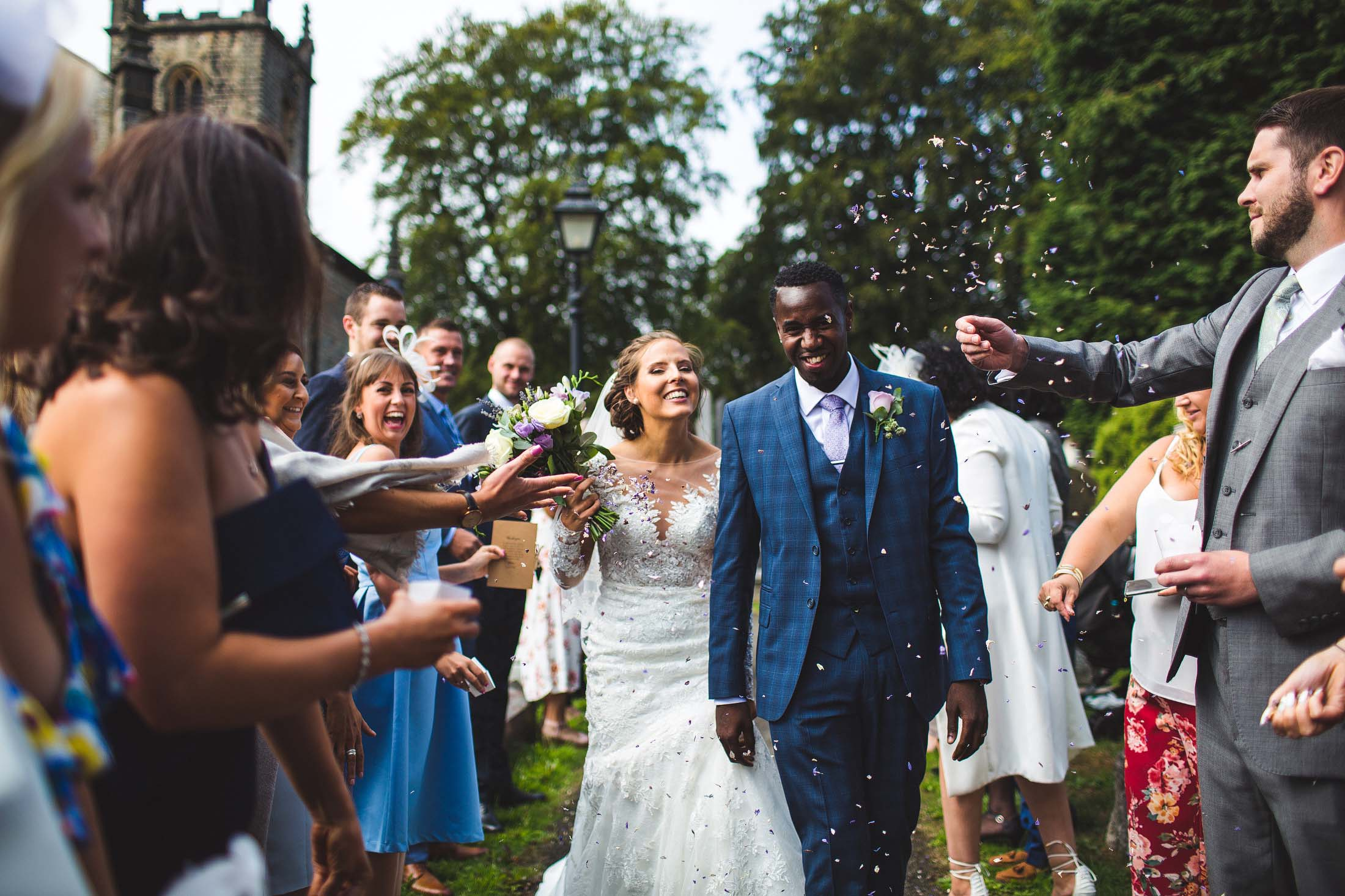Dore church wedding