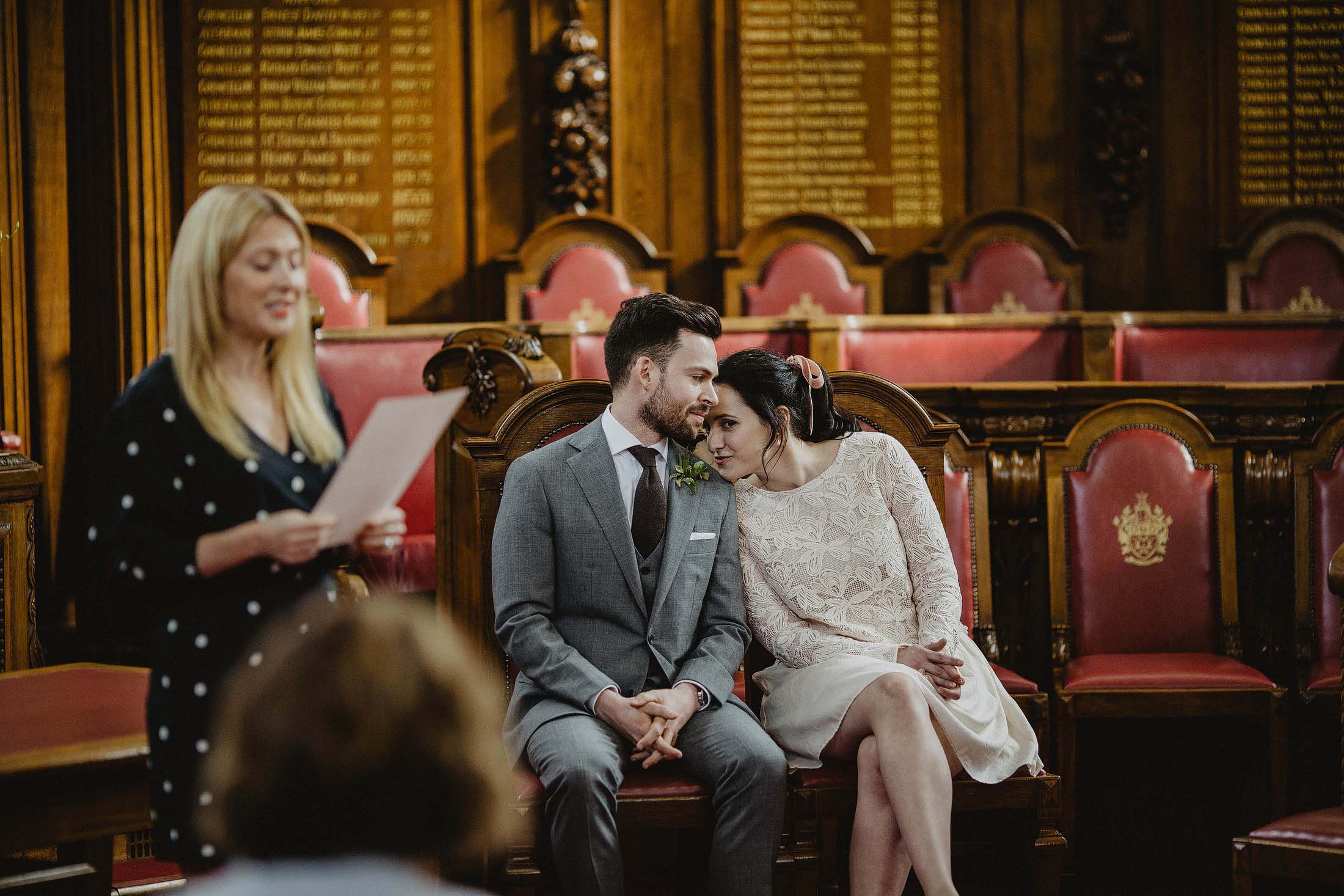 married at islington town hall