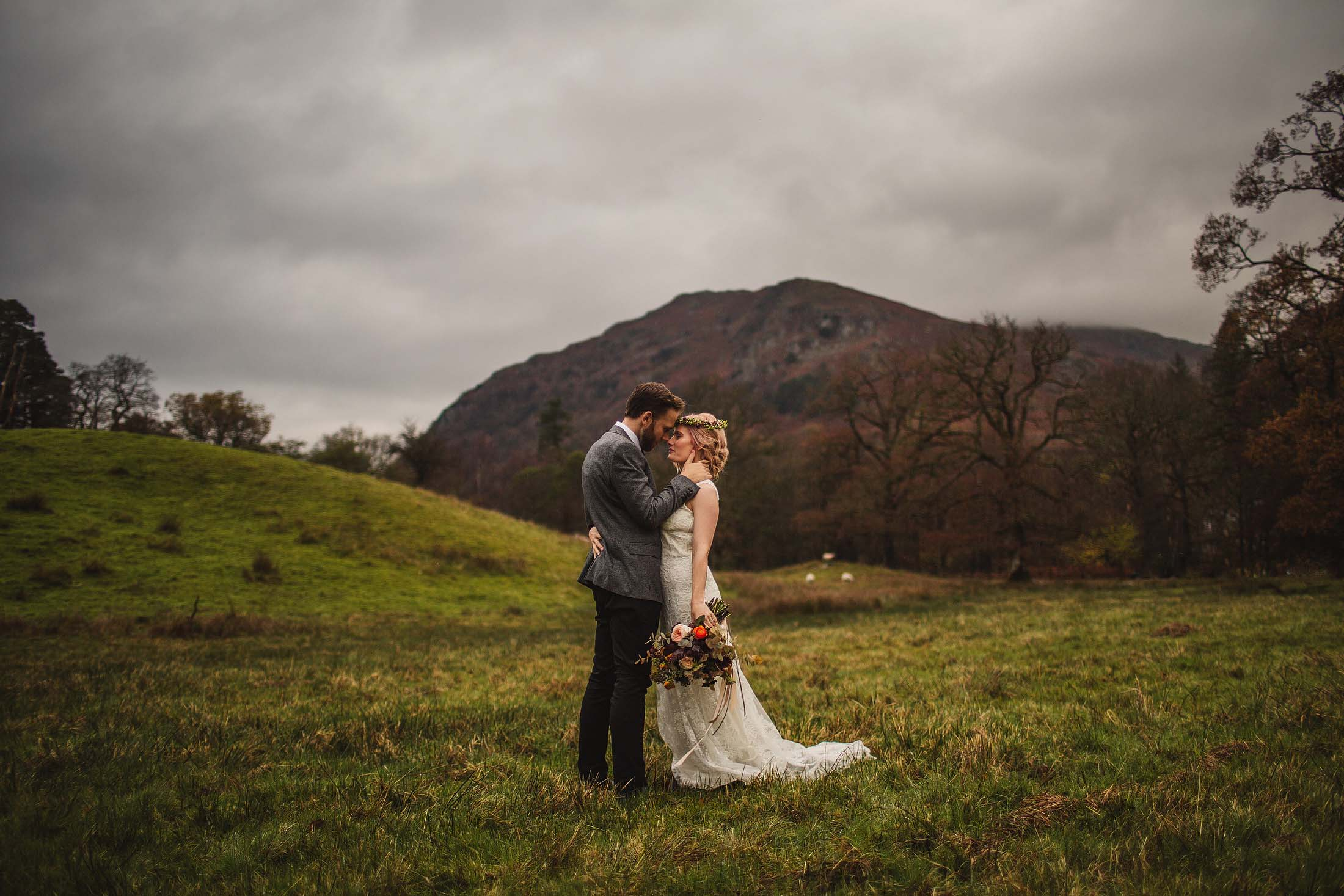 married in lake district