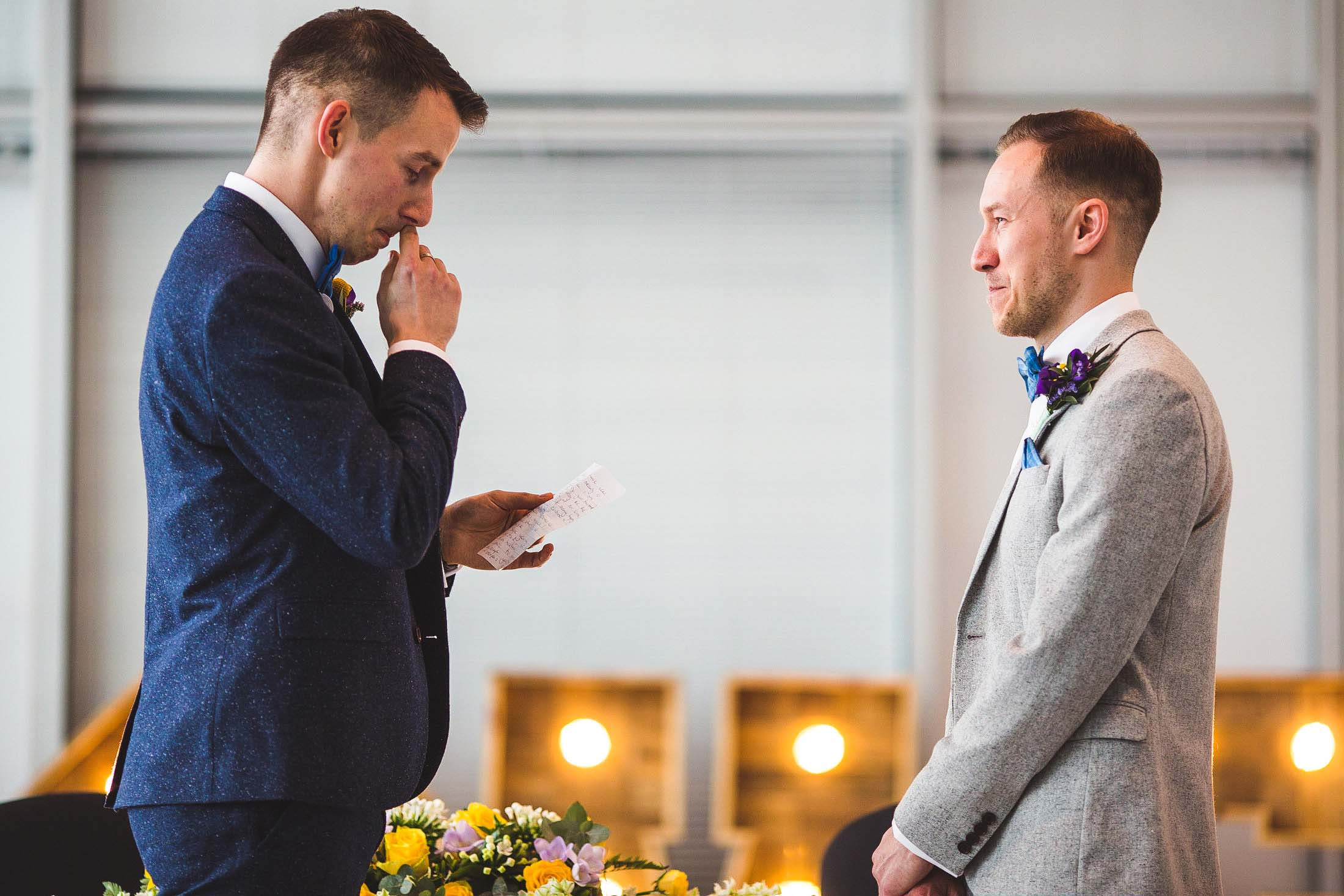 same sex wedding photography