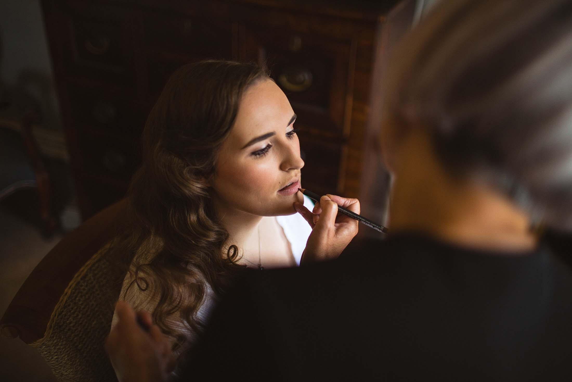 york wedding makeup