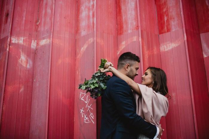 urban Sheffield wedding
