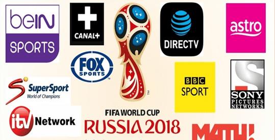 ترددات القنوات الناقلة لمباريات كأس العالم روسيا 2018 مجانا