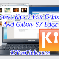Download Samsung Kies 3 For Galaxy S7 & Galaxy S7 Edge