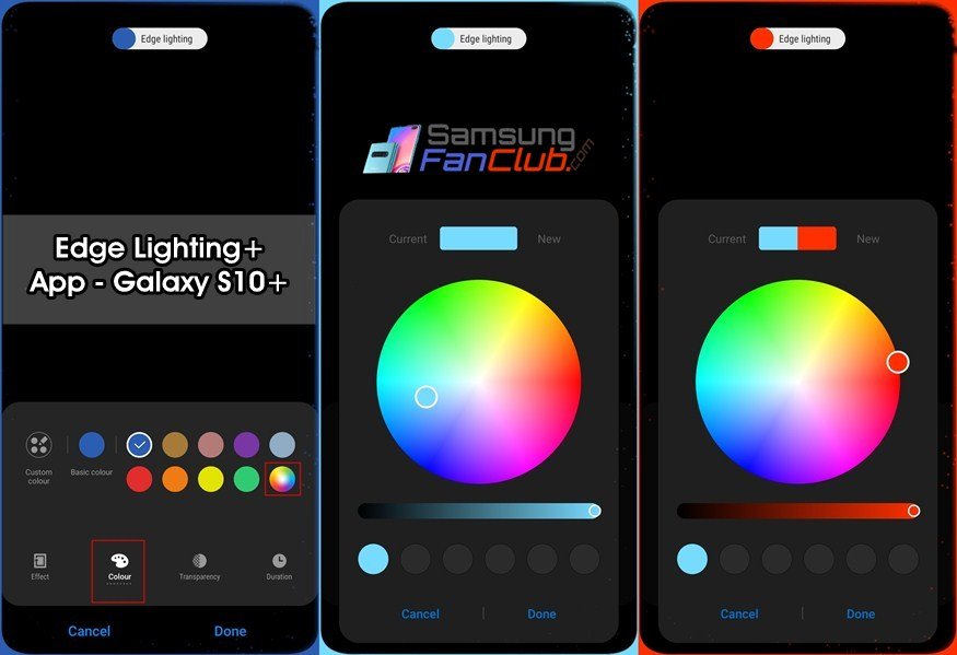 how to enable led notification light on