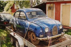 Saab 96 Sedan 1964 - before restoration