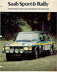 Saab Sport & Rally Brochure