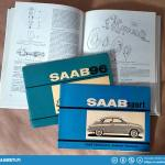 Saab Sport documentation that came with the car.