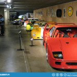 Visiting Stavelot - Museum of the Circuit of Spa-Francorchamps.