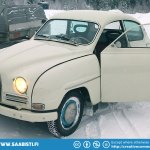 Saabs don't fear winter or snow!