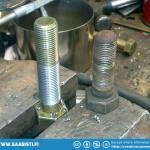 Here's the bolt thread extended. They need to be cut to length.