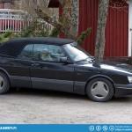 Saab 900 Cabriolet.