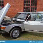 A super nice condition Saab 99 Turbo.