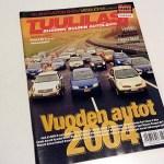 Tuulilasi Joulukuu 2003. 2 € / tarjous.