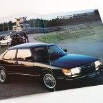 Saab 900 1983. A4 30s. 10 €.