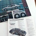 Saab 900 lisävarusteet 1986 (A4 32s.) + Huoltotarjous. 16 €.
