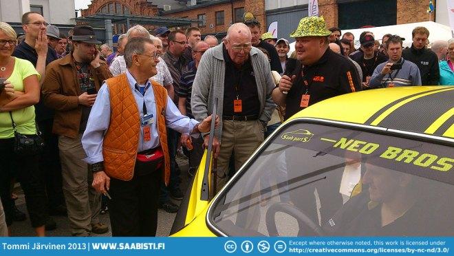Simo Lampinen, Erik Carlsson and Peter Bäckström.